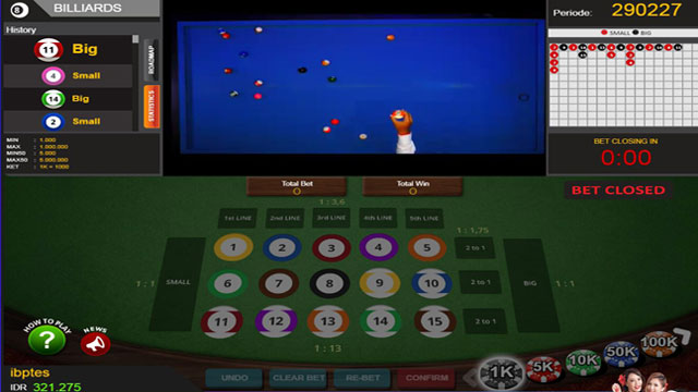 Cara Main Billiard Pool Online